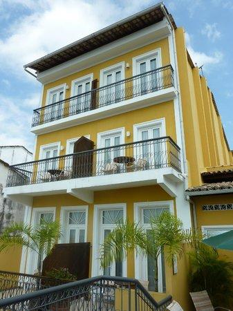 Hotel Casa do Amarelindo: Hotel rear