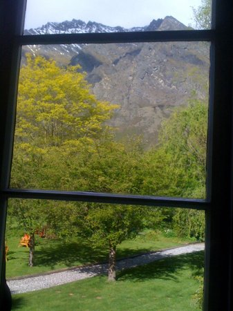 Remarkables Mountain Lodge : The view from my room