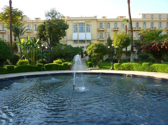 Sofitel Winter Palace Luxor: fountain