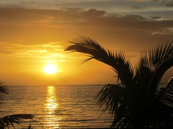 Turneffe Island Resort: sunrise
