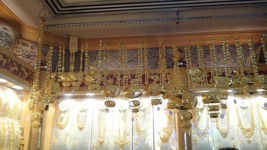 Old Souk: золото на рынке