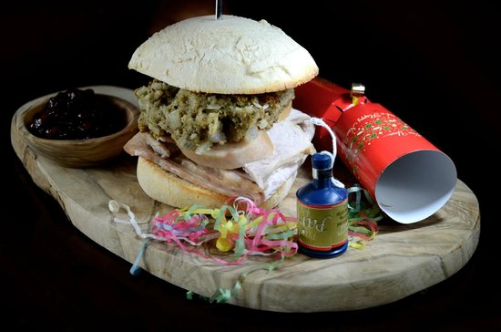 The Wig and Pen: Our special Christmas turkey, Stuffing & Cranberry roll