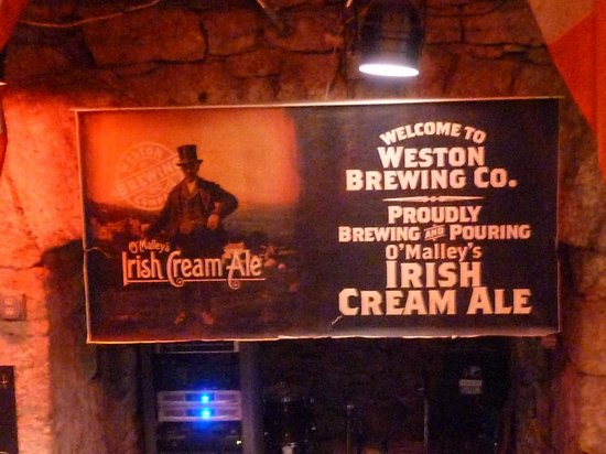 O'Malley's Pub: poster on wall