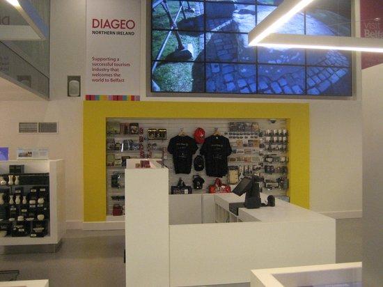 Visit Belfast Welcome Centre: Diageo