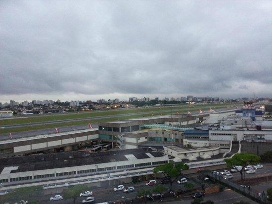Ibis Sao Paulo Congonhas: Vista: aeroporto de Congonhas
