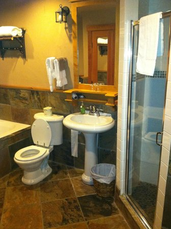 Paintbox Lodge: Bathroom