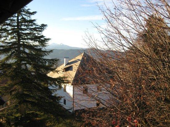 Hotel Dolomiten: panorama