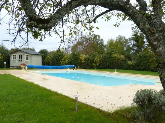 Domaine Le Muret : L'espace piscine