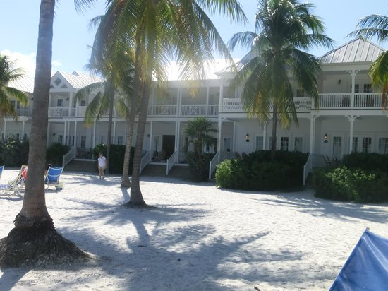 Tranquility Bay Beach House Resort: Apartments facing the sea