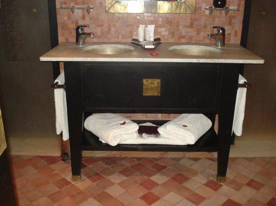 Club Med Marrakech le Riad : la salle de bains