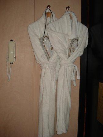 Club Med Marrakech le Riad : les peignoirs et chaussons