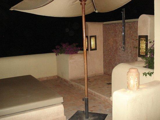 Club Med Marrakech le Riad : la terrasse de nuit