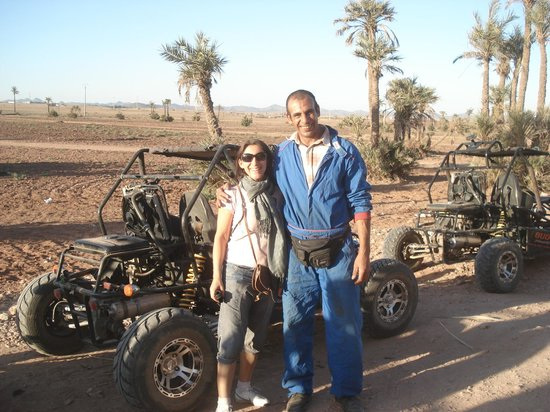 Club Med Marrakech le Riad: Bohabit,le guide du buggy