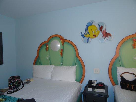 Disney's Art of Animation Resort: Inside our room