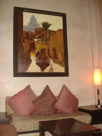 Club Med Marrakech le Riad: un des salons du Riad
