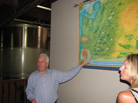 Chateau Ste. Michelle Vineyards : Really informative tour