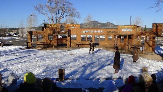Williams Depot : Wild West Show