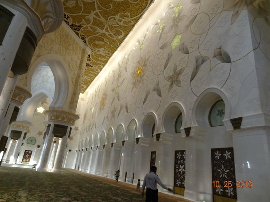 Sheikh Zayed Mosque: As paredes
