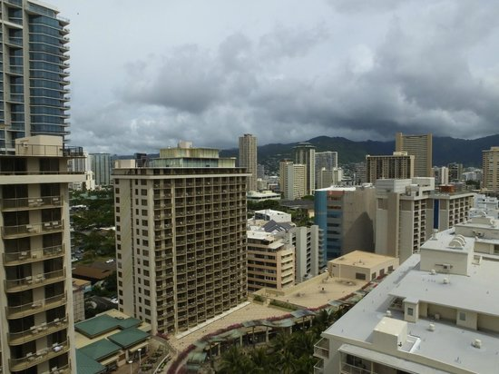 The Imperial Hawaii Resort at Waikiki: A View From Our Balcony of Waikiki..!