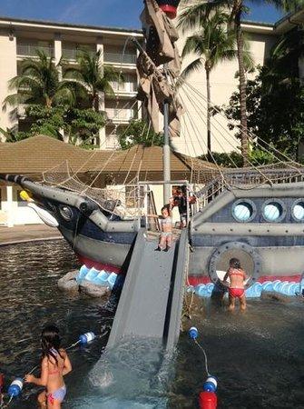 Enjoying The Pirate Ship Pool Picture Of The Westin Kaanapali Ocean Resort Villas Lahaina