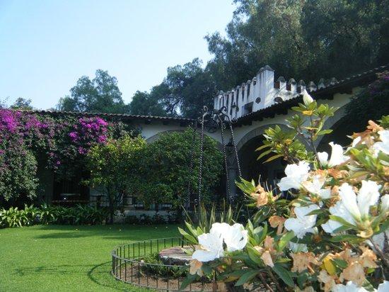 Museo Dolores Olmedo Patino: Jardín interior