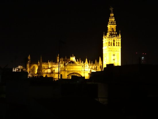Metropol Parasol: seville cathedral from the mushroom!
