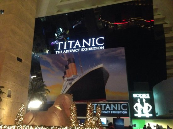 Titanic: The Artifact Exhibition: Larry Pictures