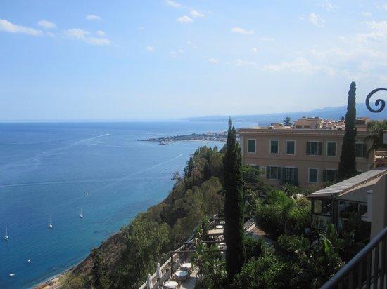 Metropole Taormina Maison d'Hotes: balcony view