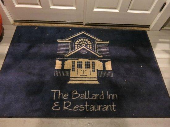 Ballard Inn Restaurant : Ballard Inn entry