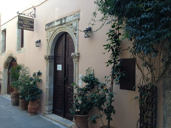 Casa Dei Delfini: Casa De Delfini Entrance