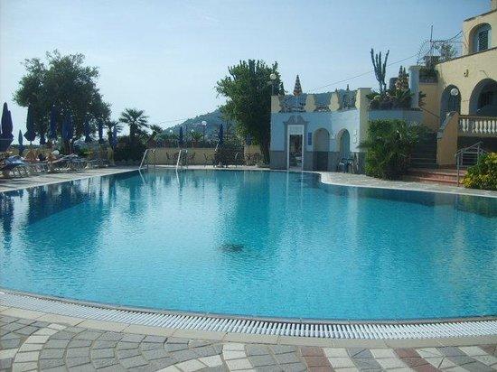 President Hotel Terme: Piscina olimpionica esterna riscaldata