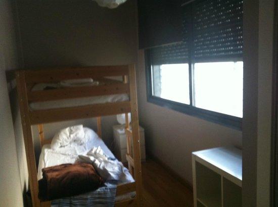 Apartamentos San Pablo: Habitación literas