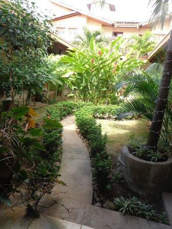 Hotel El Almirante: patio interno