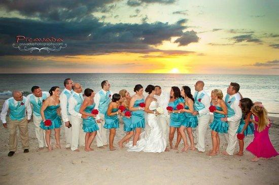 JW Marriott Guanacaste Resort & Spa: Reception on the beach