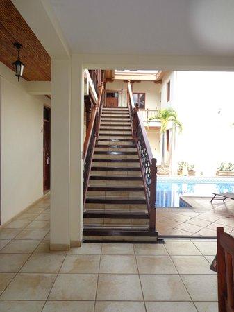 Hotel El Almirante: escalera