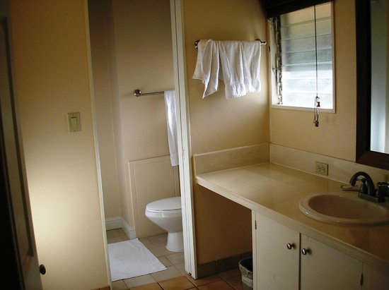Royal Lahaina Resort: One of two bathrooms.  Shower is across from the toilet