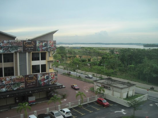 Tune Hotel Danga Bay: view from our room