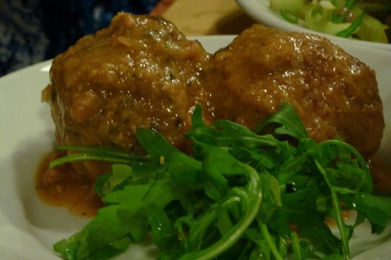 Federici Guest House: Dell Angelo Meatballs