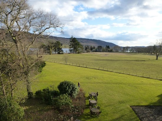 Waterhead Hotel: The view from our room