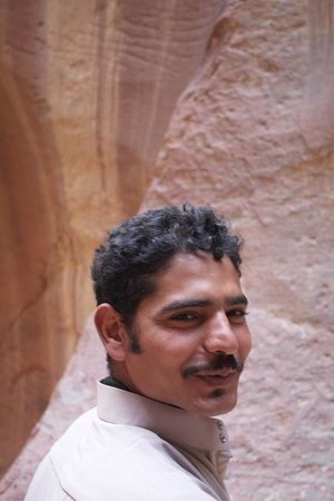 The Rock Camp - Petra : Mahmoud our great guide