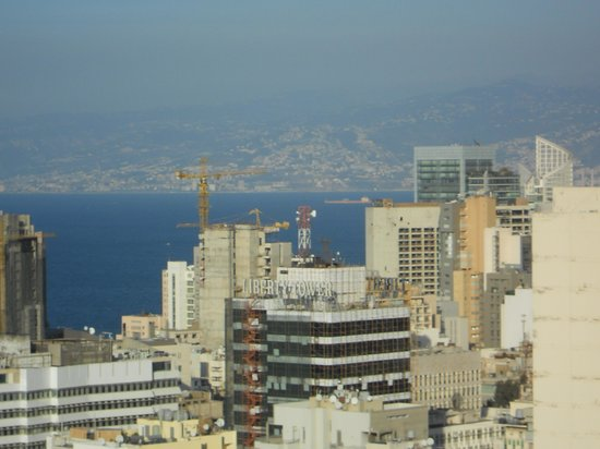 Staybridge Suites Beirut: The view from suite 2001