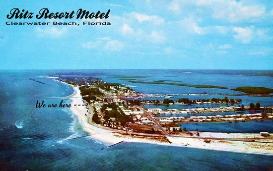 Beachwalk Inn: Ritz Resort Motel in 1960.... really 1st class back then - still is in many ways.
