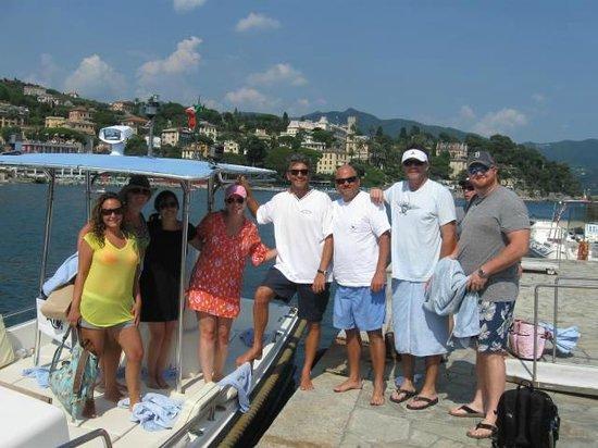 Portofino Taxi Boat: Entire Group