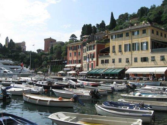 Portofino Taxi Boat: View of Portofino