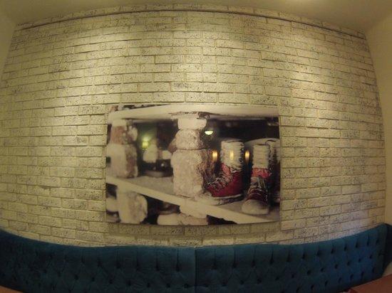 LA FE Hotel and Arts: Los cuadros de Oscar Fernandez