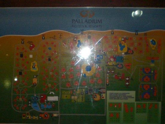 Grand Palladium Punta Cana Resort & Spa : Plano orientativo