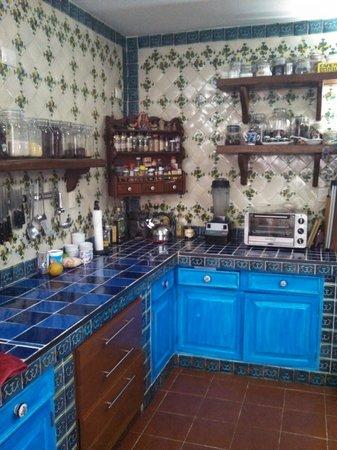 Alma de mi Tierra Cooking School: Nora's kitchen