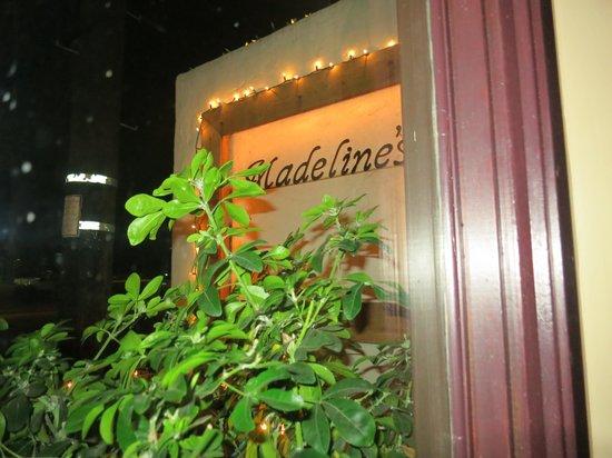 Madeline's Restaurant: Madeline's
