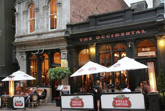 The Occidental Belgian Beer Cafe : Outside The Occidental