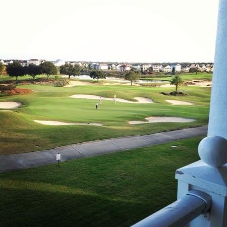 Reunion Resort, A Salamander Golf & Spa Resort: our view from the villa